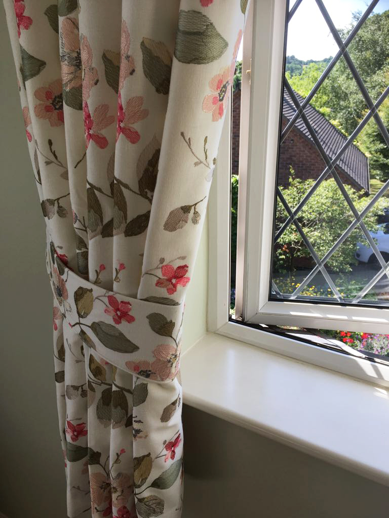 Bespoke curtains in Derbyshire