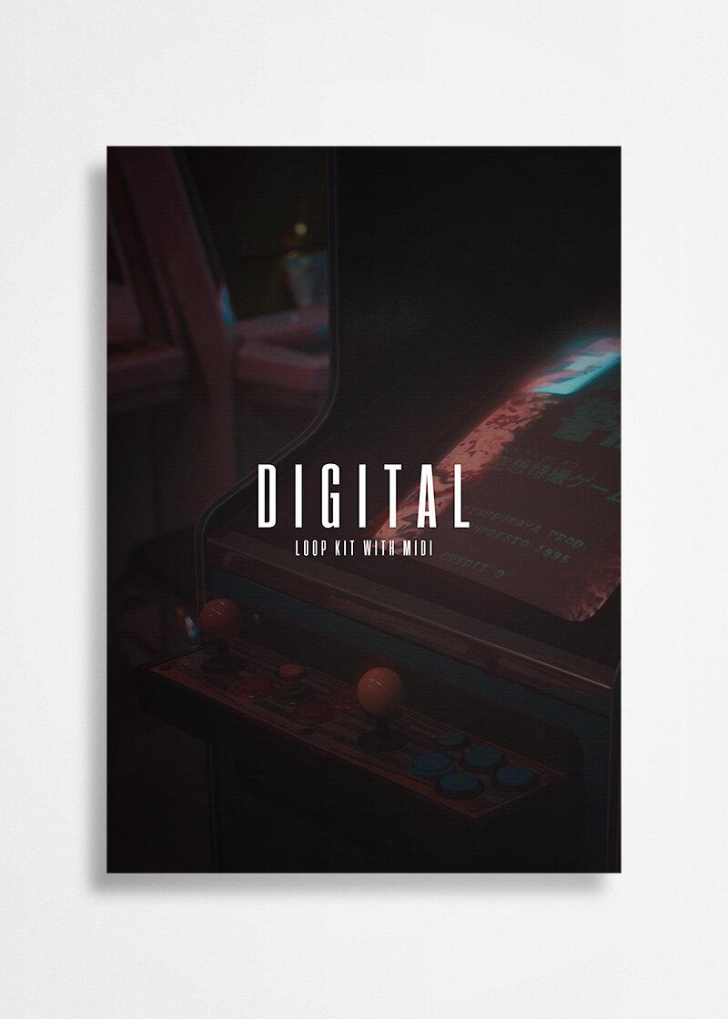 Free Download - DIGITAL - (LOOP KIT WITH MIDI)