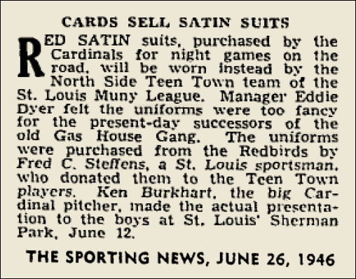 CARDS RED SATIN