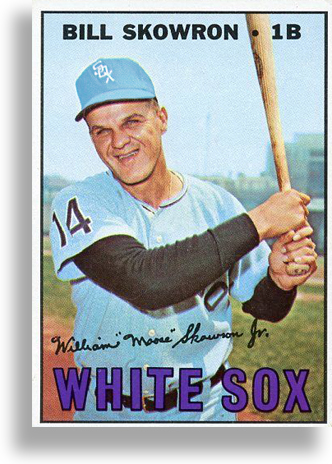 1966 CHISOX CARD