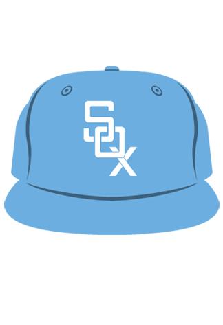 POWDER-BLUE-SOX-CAP