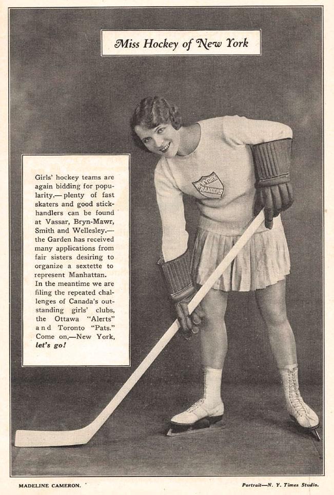1928 MISS HOCKEY