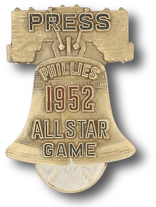 1952 PRESS PIN