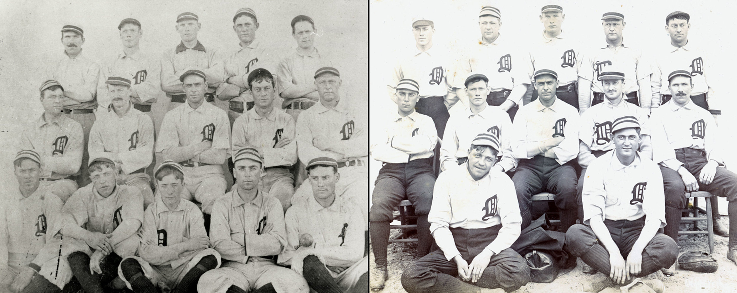 Late 1890s Detroit Tigers, courtesy Ernie Harwell Sports Collection, Detroit Public Library
