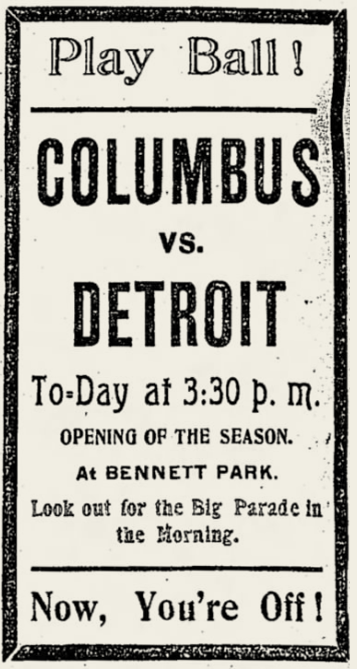 Detroit Free Press ad