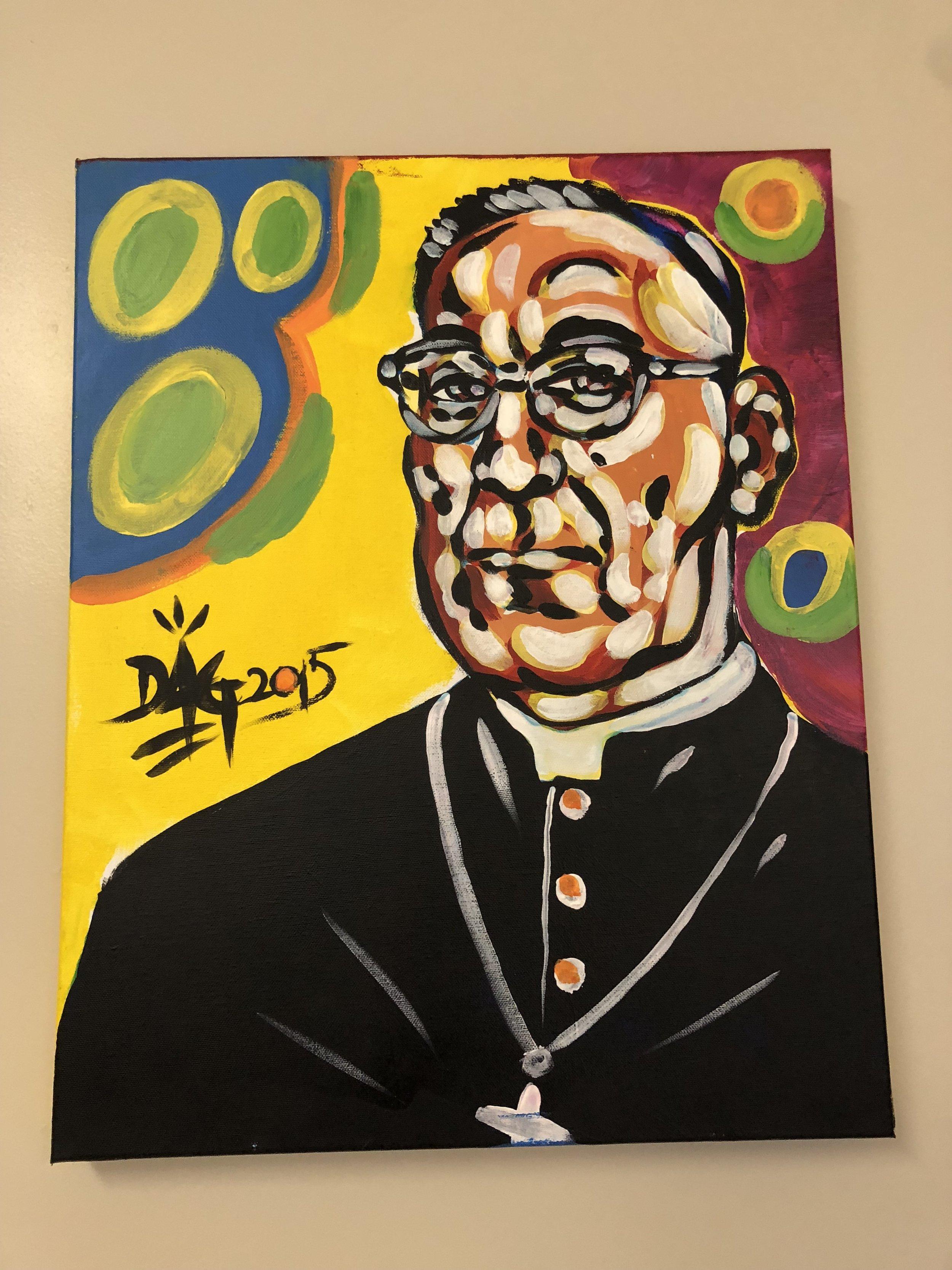 Oscar Romero by David Alan Goldberg