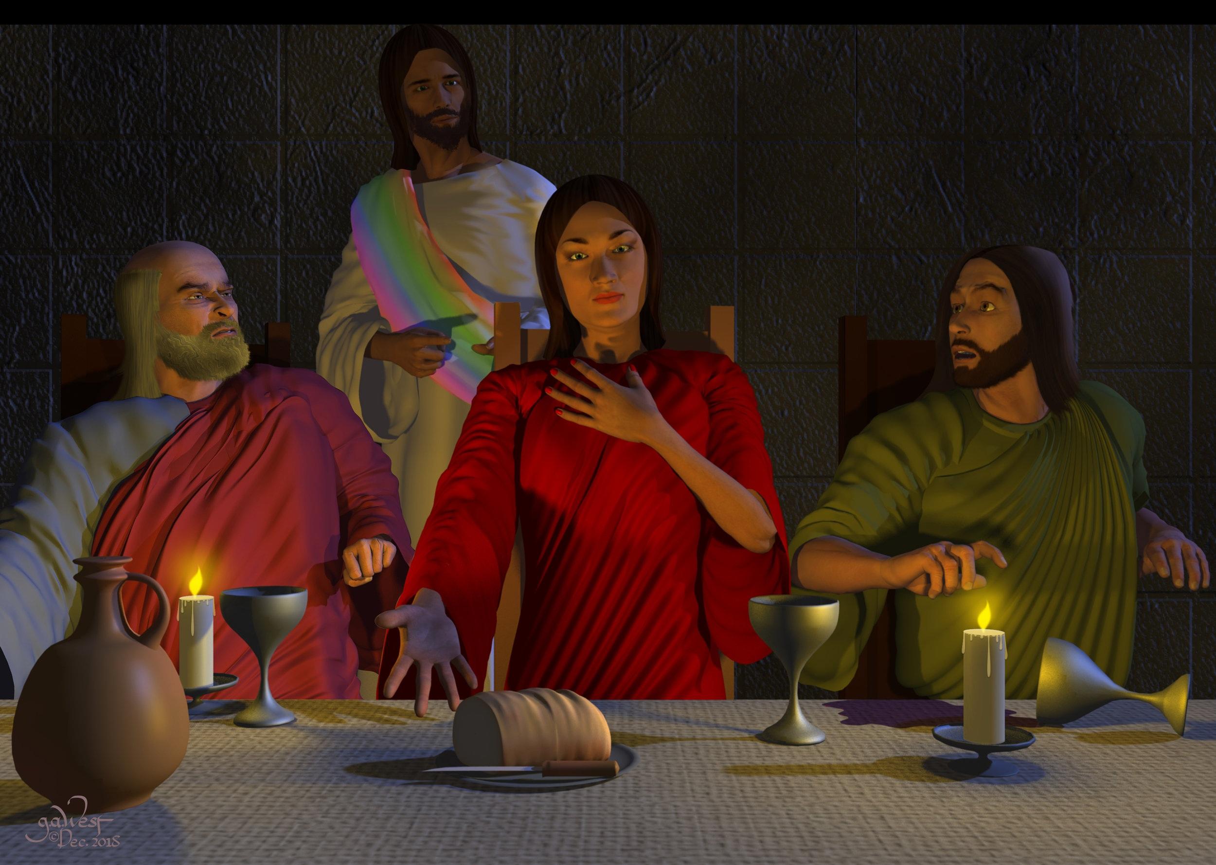 Remember Me Too (Transgender Jesus)