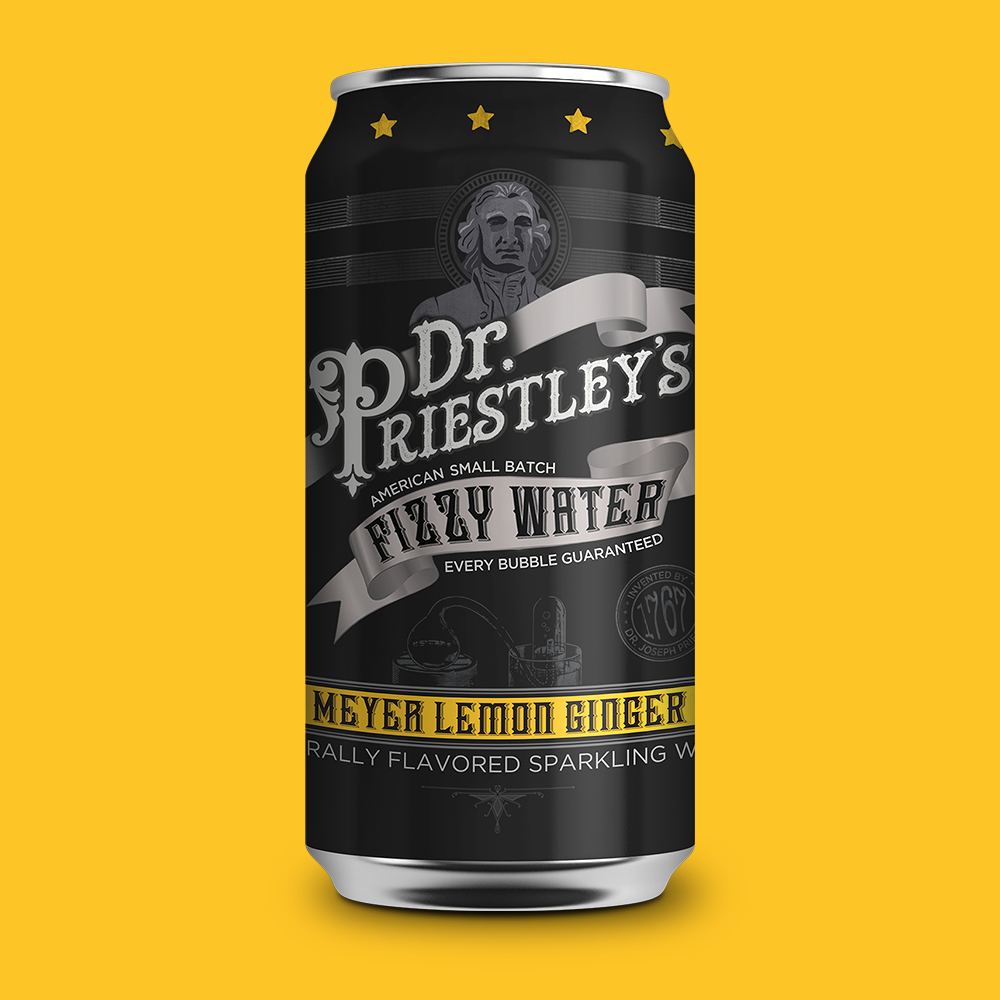 As refreshing as it is surprising. One sip of our lemony, gingery thirst quencher and you're sure to stare at the can with eyebrows raised. -