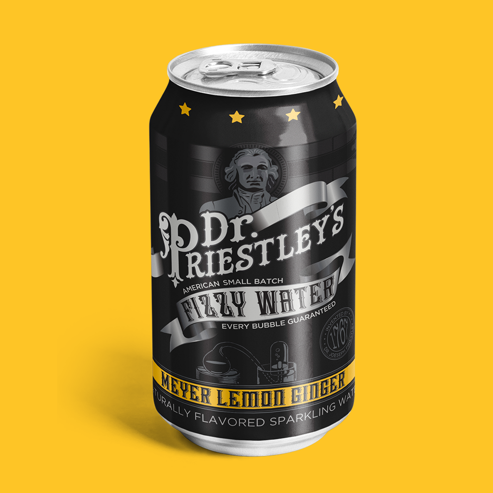 Yes, we're sure this is just fizzy water. - One sip of our intensely lemony and gingery bubbly thirst quencher and you'll stare at the can with eyebrows raised. Guaranteed.