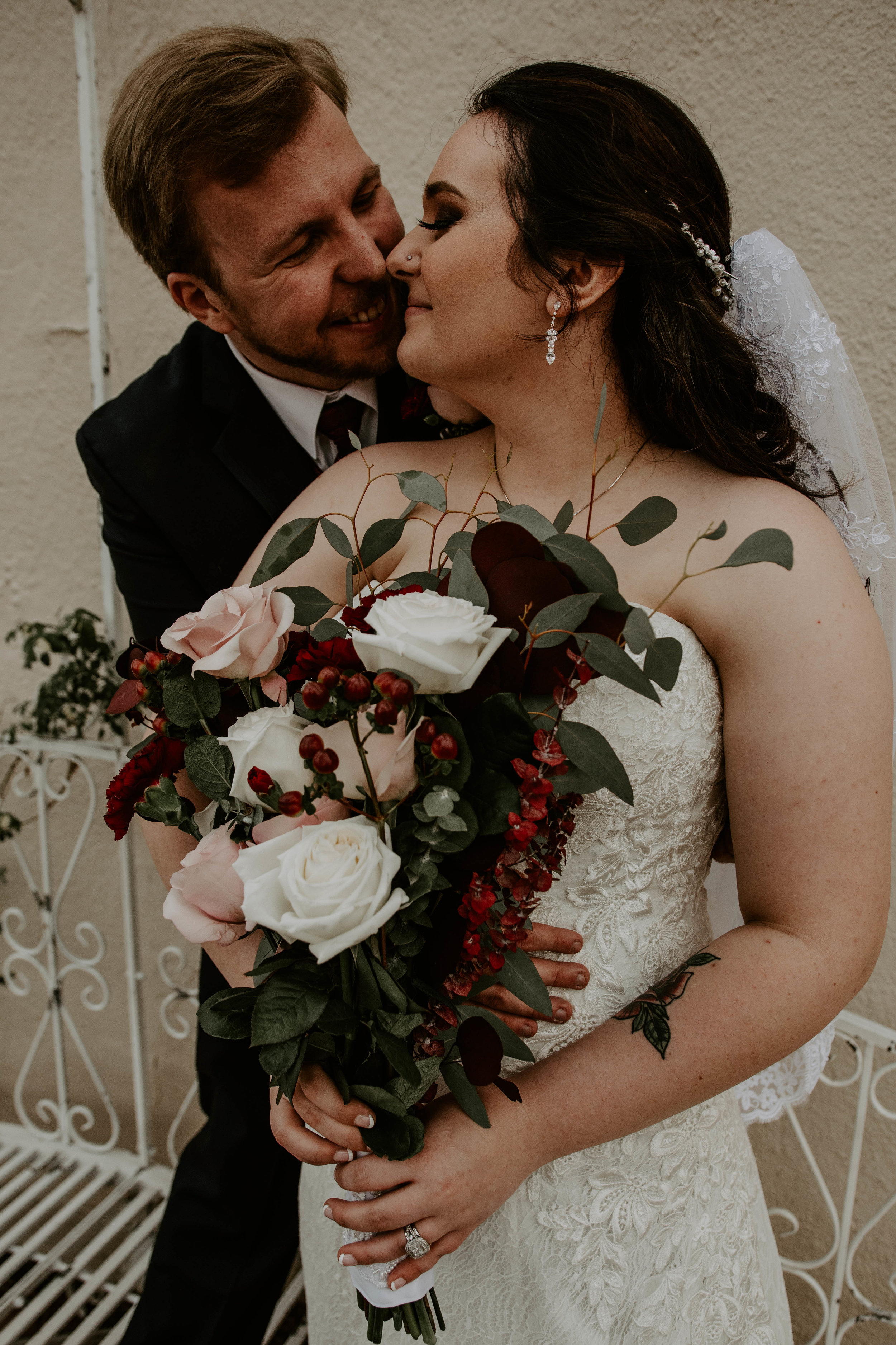 "Michelle & Allen - ""Ashley recently photographed our wedding and before that our engagement photos, and after our experience I seriously could not recommend anyone better. I knew she was going to be the right photographer for us after looking at her portfolio, but after I reached out to her she just kept proving me right over and over again. Ashley is so organized, professional, kind and flexible. She made me and everyone involved in my wedding feel extremely comfortable just being themselves for her photos. And she gets everything edited SO FAST!!! I believe I received all of my edited engagement photos 3 days after the shoot. And I received a handful of the best wedding photos just 4 days after. I will be recommending Ashley to everyone I know in need of a family/wedding/maternity photographer. And I will continue to use her for all of my professional photography needs."""