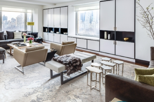 New York Spaces - A Central Park WestApartment Gets a Makeover