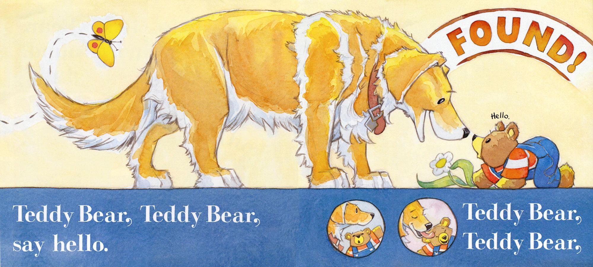 Teddy Bear, Teddy Bear  Greenwillow Books, 2005; public domain text