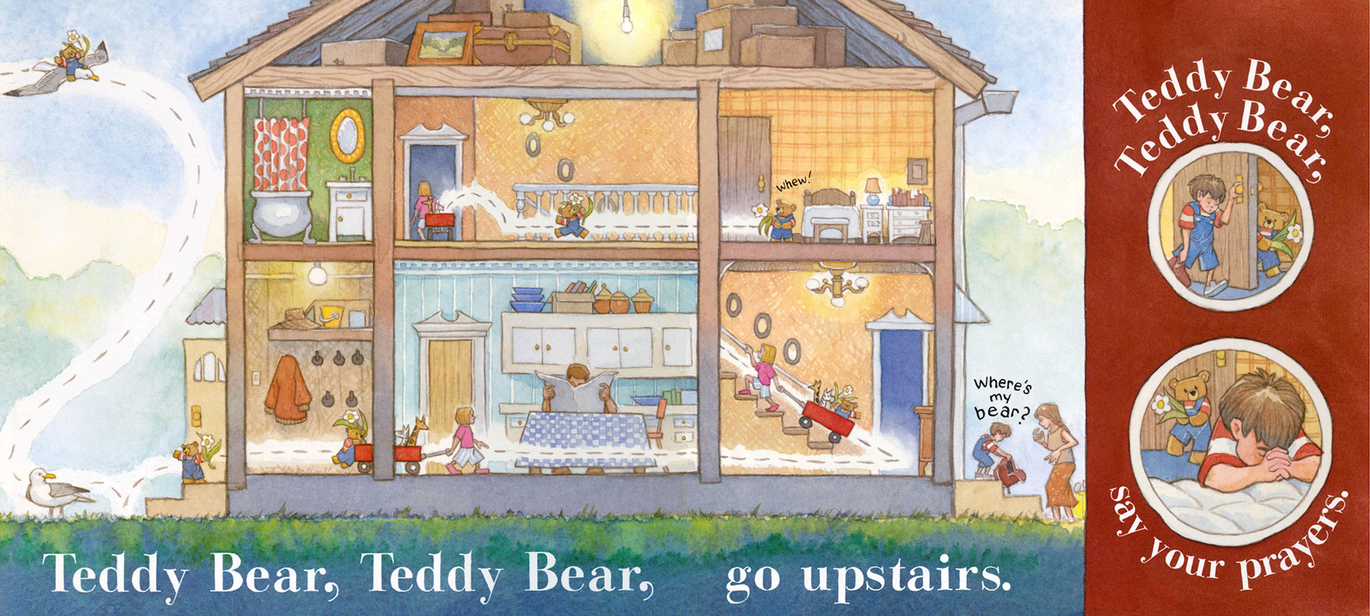 Teddy Bear, Teddy Bear  Greenwillow Books, 2005; public domain text