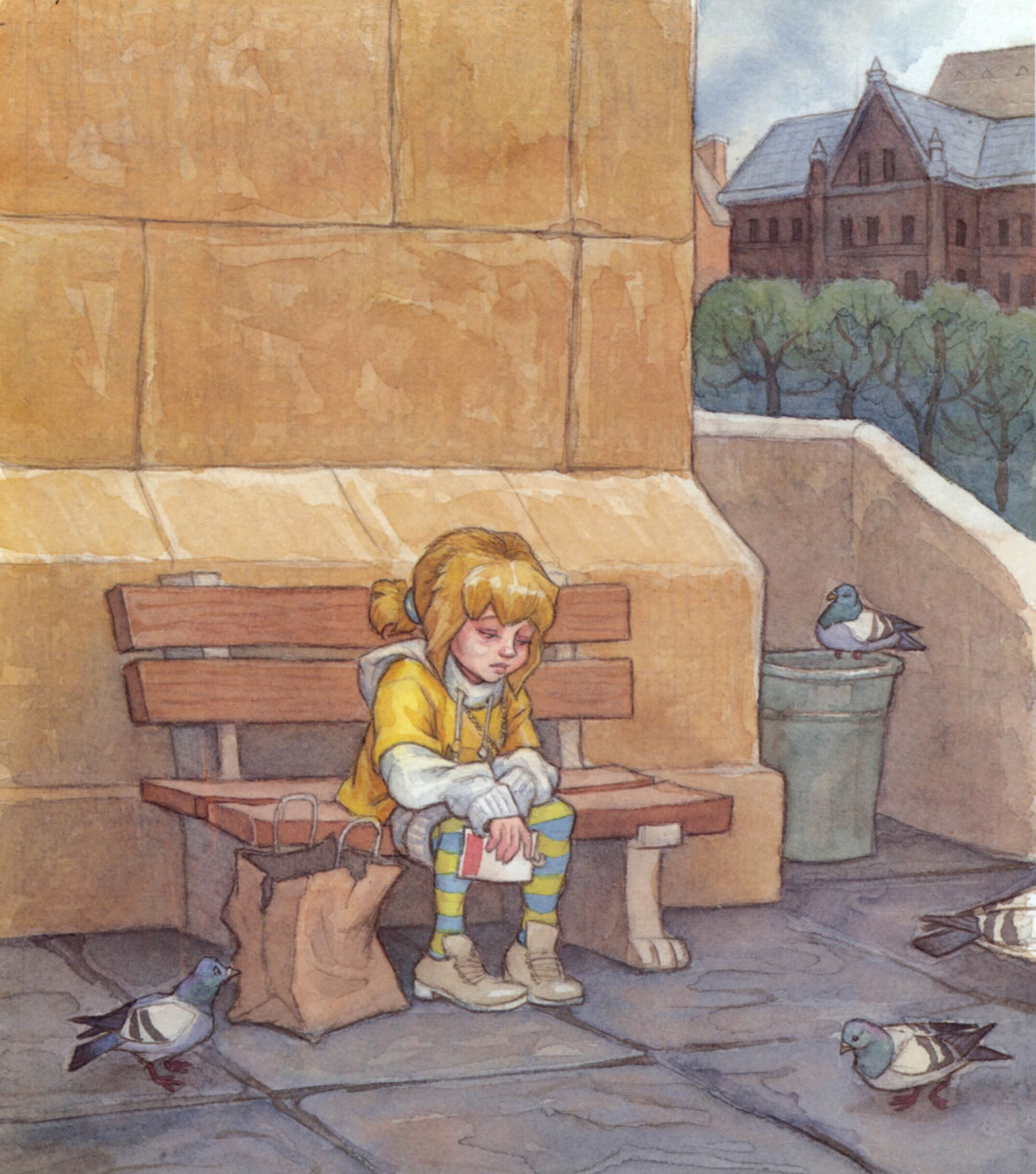 Janey and the Famous Author  Clarion Books, 2005; text by Mary Downing Hahn