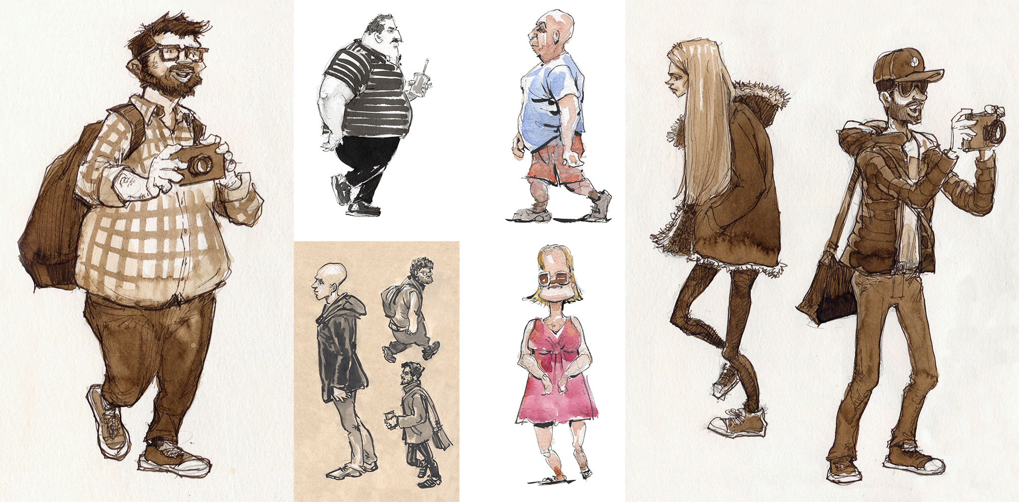 Sketchbook , 2013-14