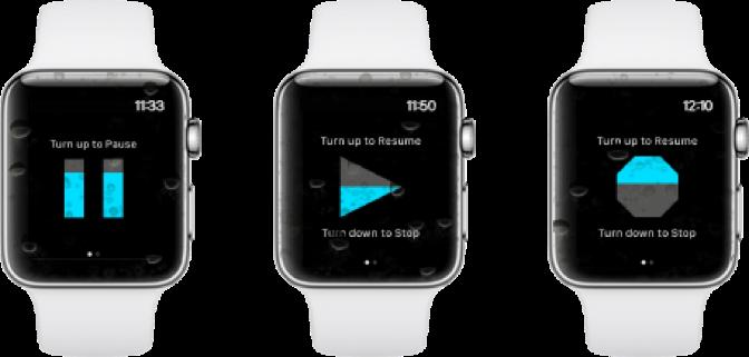 RunGo Apple Watch Crown Control