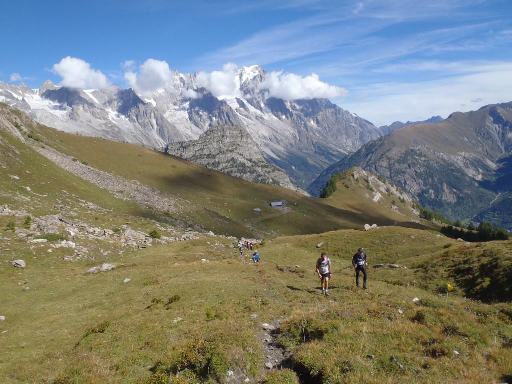 Along the Tor des Geants course