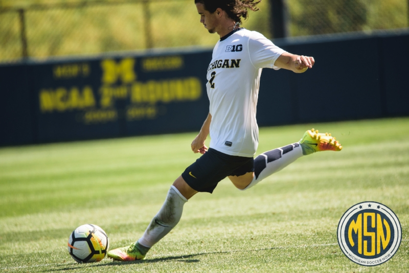 Marcello Borges earned Second Team All-Big Ten honors in 2017