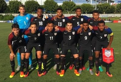 Borges with US U-20 (PC, SoccerAmerica)