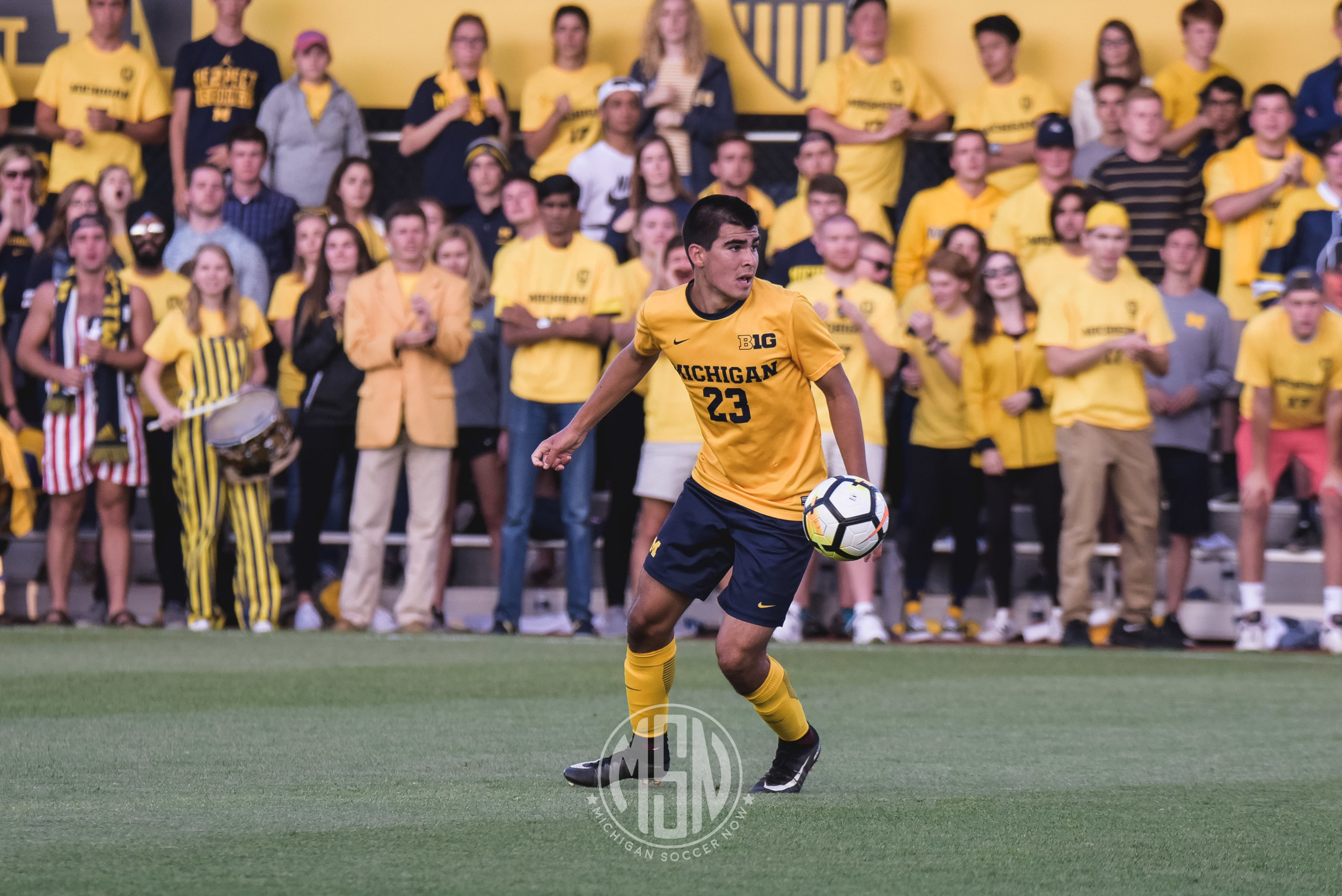 Marc Ybarra (23) will be spending his summer with the NPSL's AFC Ann Arbor