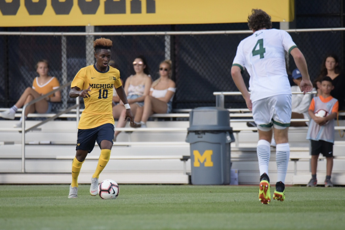 Umar Farouk Osman found the net for a team-high seventh time against Detroit.