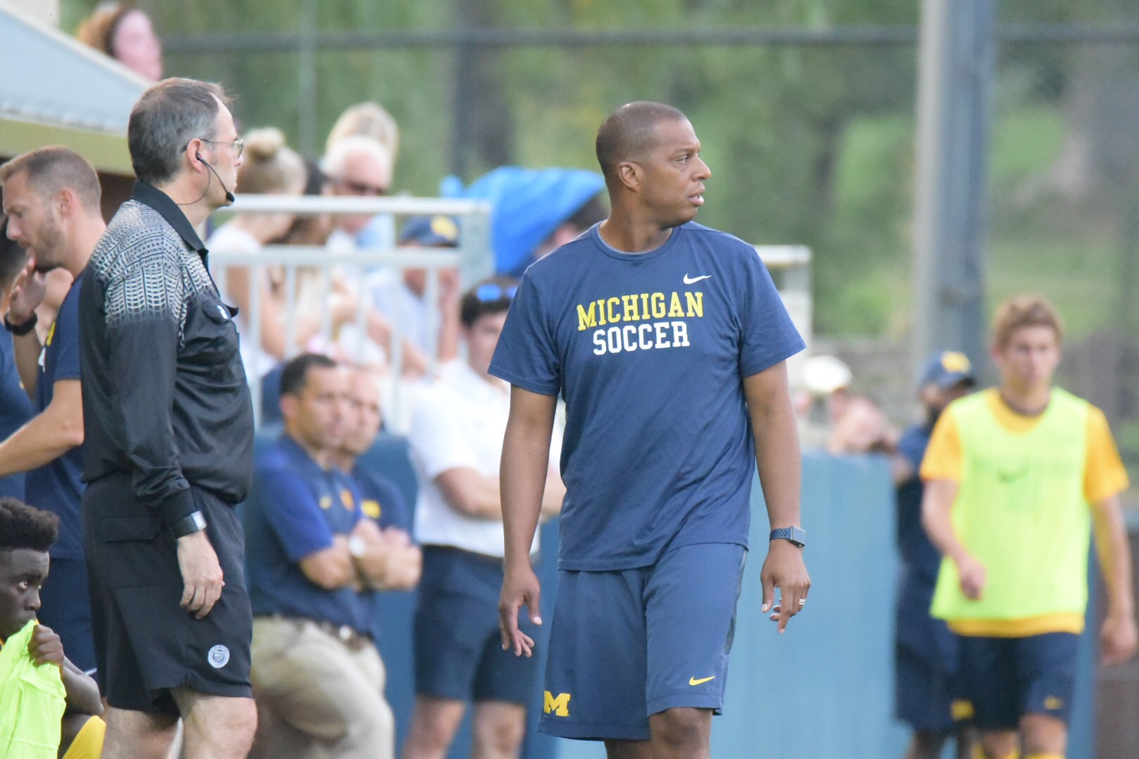 Coach Chaka Daley has led the Wolverines to back-to-back 12-win seasons, a first in program history.