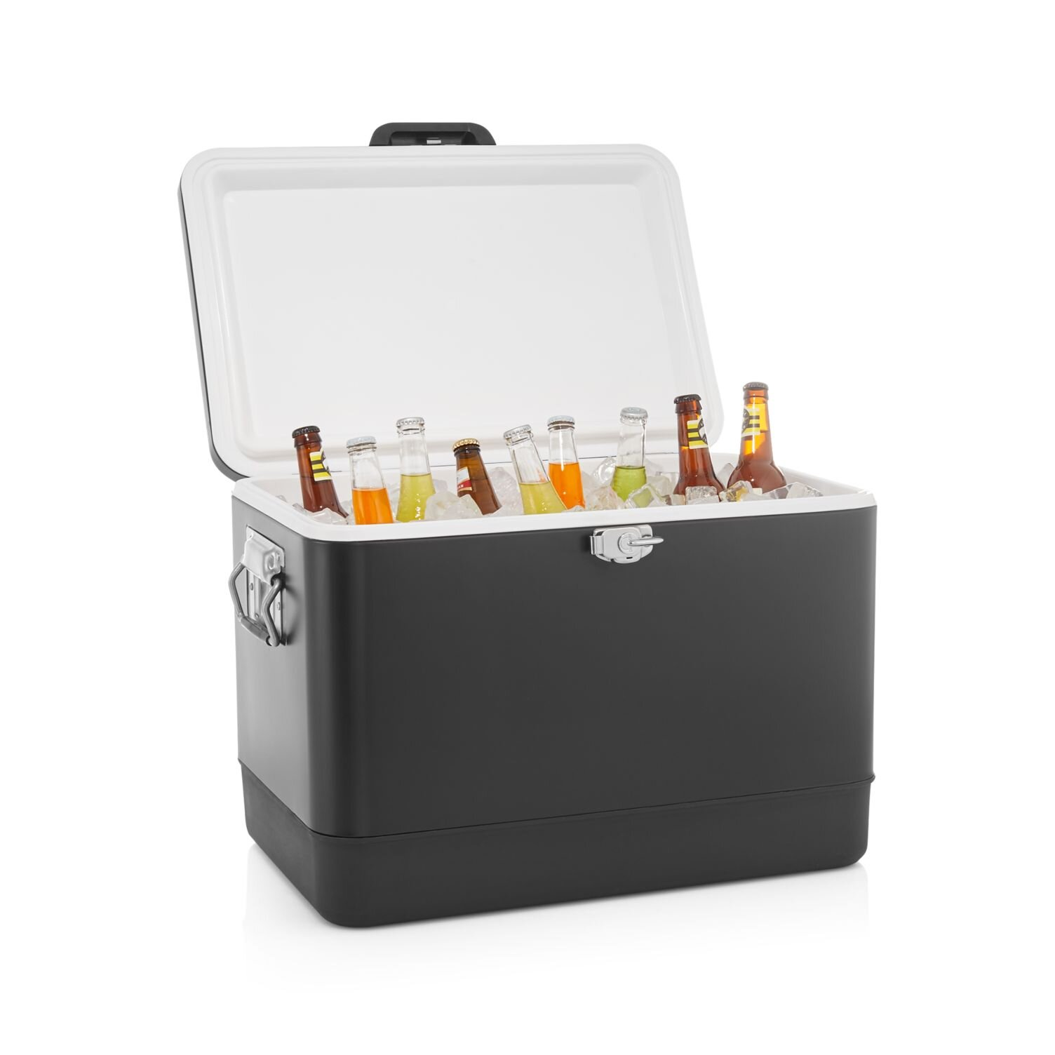 All Black Crate & Barrel Cooler