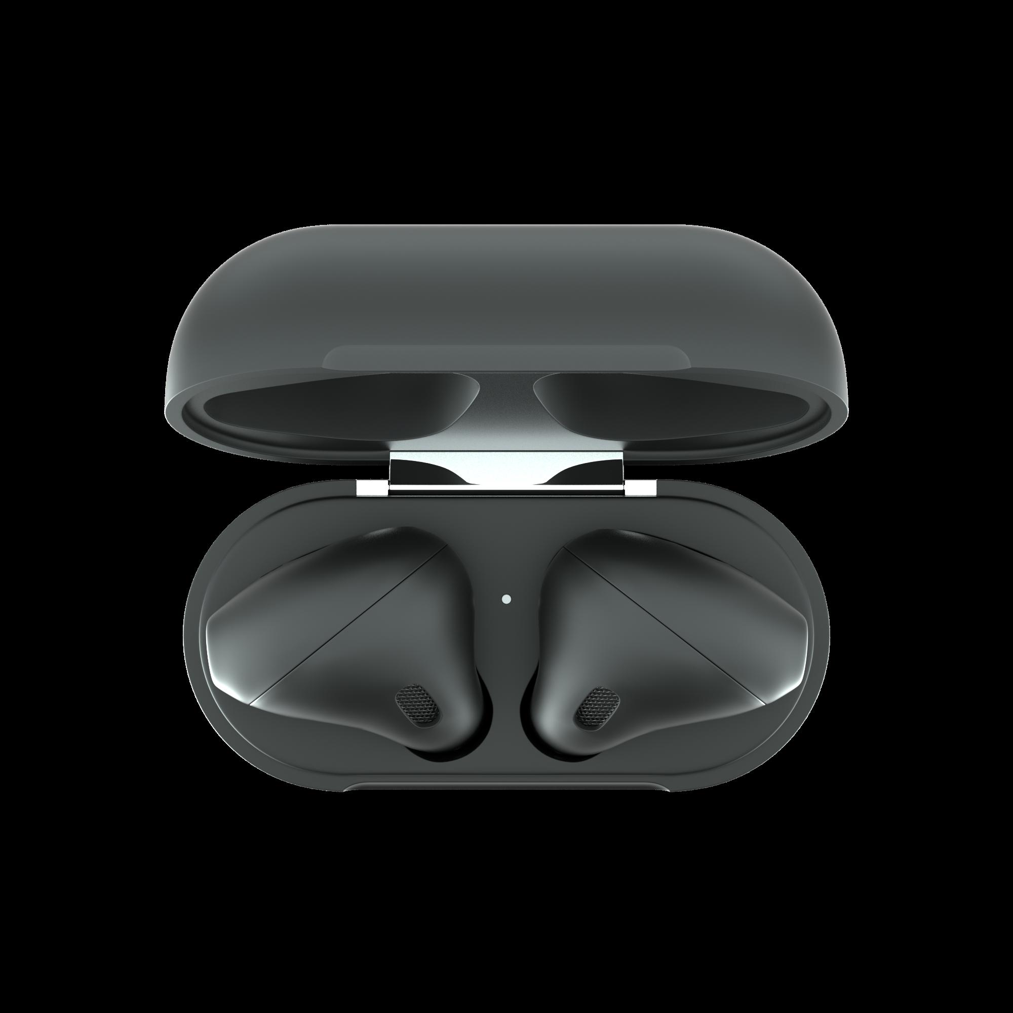 All Black AirPods Black Pods 2 Blvcknoir.com
