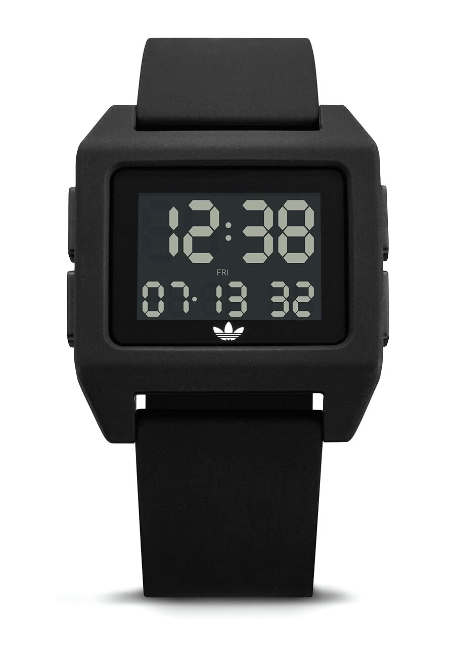 All Black Adidas Watch Archive SP1
