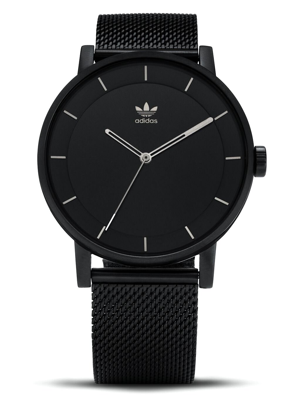 All Black Adidas Watch District M1