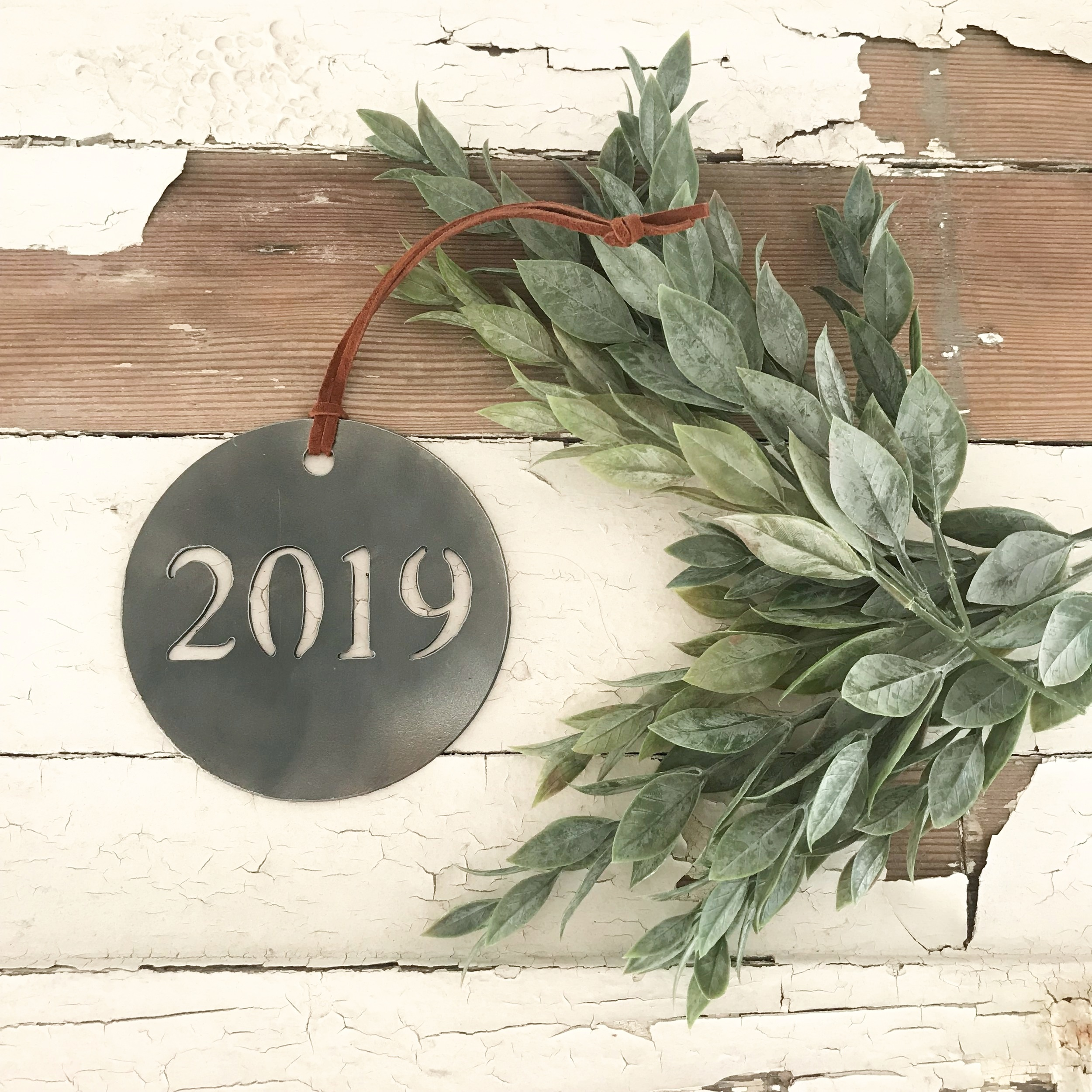 Sweet and universal. An annual ornament to mark a year of your history. Find the  2019 Ornament  here.