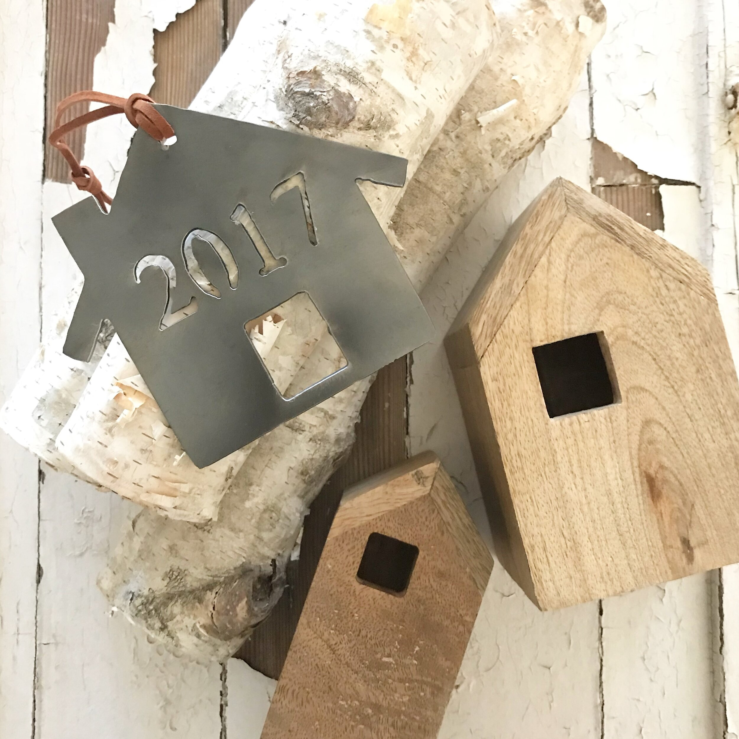 Our  personalized house ornaments  are always a favorite for those who are celebrating Christmas in their new home for the first time.