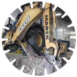 Site Work/Excavation Division - Our site work / excavating department has a full line of equipment capable of tackling a variety of excavation projects.