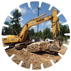 Selective Demolition - A variety of demolition methods of concrete and steel removal depending on the need location of the project.
