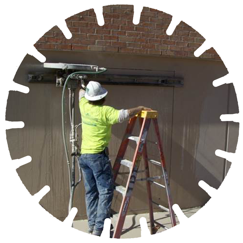 Wall Sawing - Wall sawing can be used to cut precise dimensional doors, vents and window openings.
