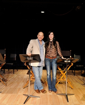 Evan Handler and Nadia Dajani, part of the cast of Acapulco (2011).
