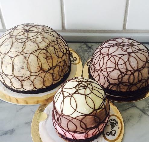 Chocolate Swirl Bombe