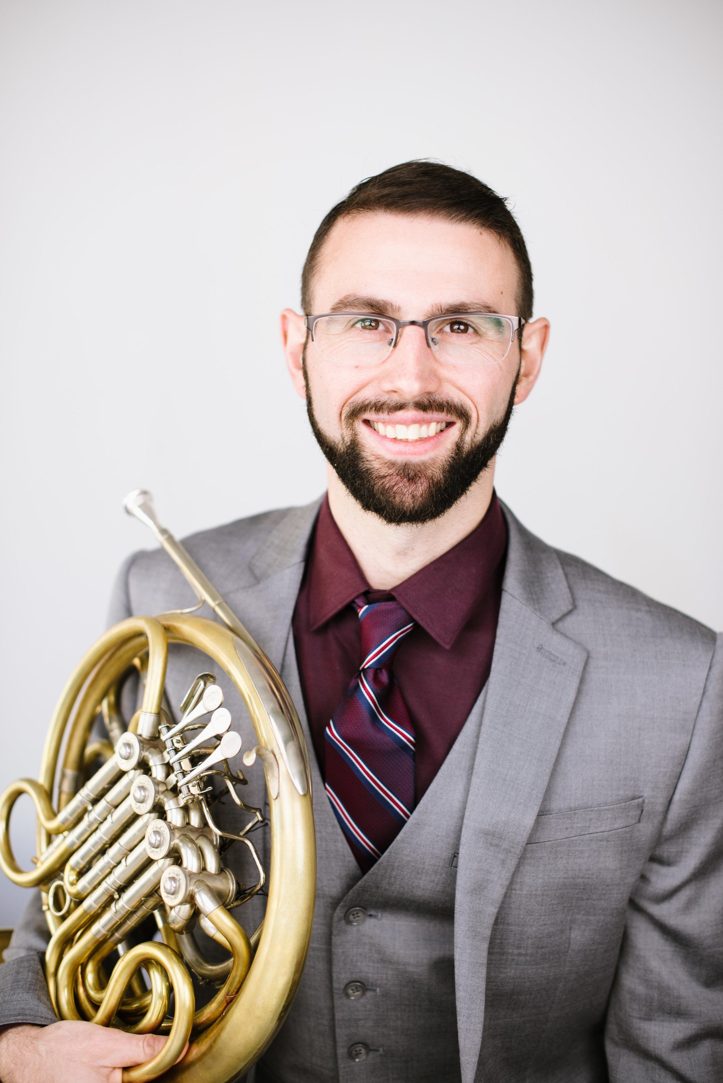 Olivier Huebscher, Horn -