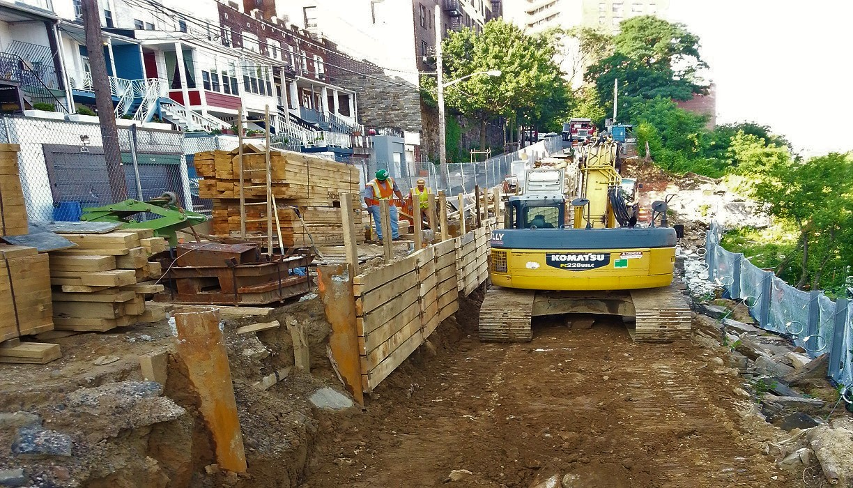 Cannon Place Retaining Wall Reconstruction