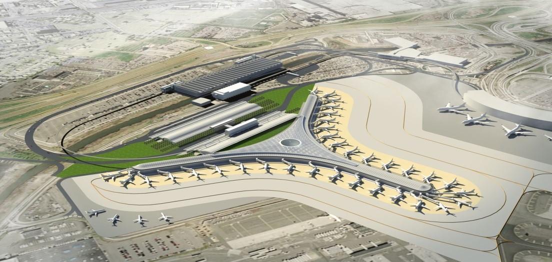 Newark Airport Terminal A Redevelopment