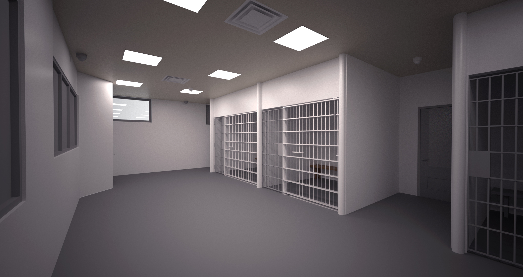 BIM for Nassau County Police Precinct