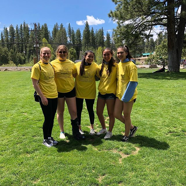 On Saturday we participated in #truckeeday and picked up 30-40 lbs of trash on the south side of Donner Lake!