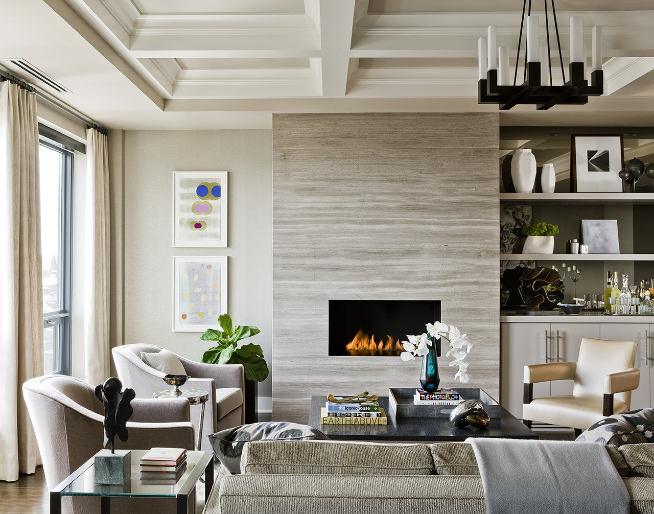 Design by  Elms Interior Design
