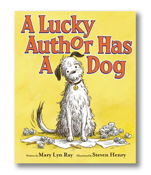 Lucky Author Has a Dog, A.jpg