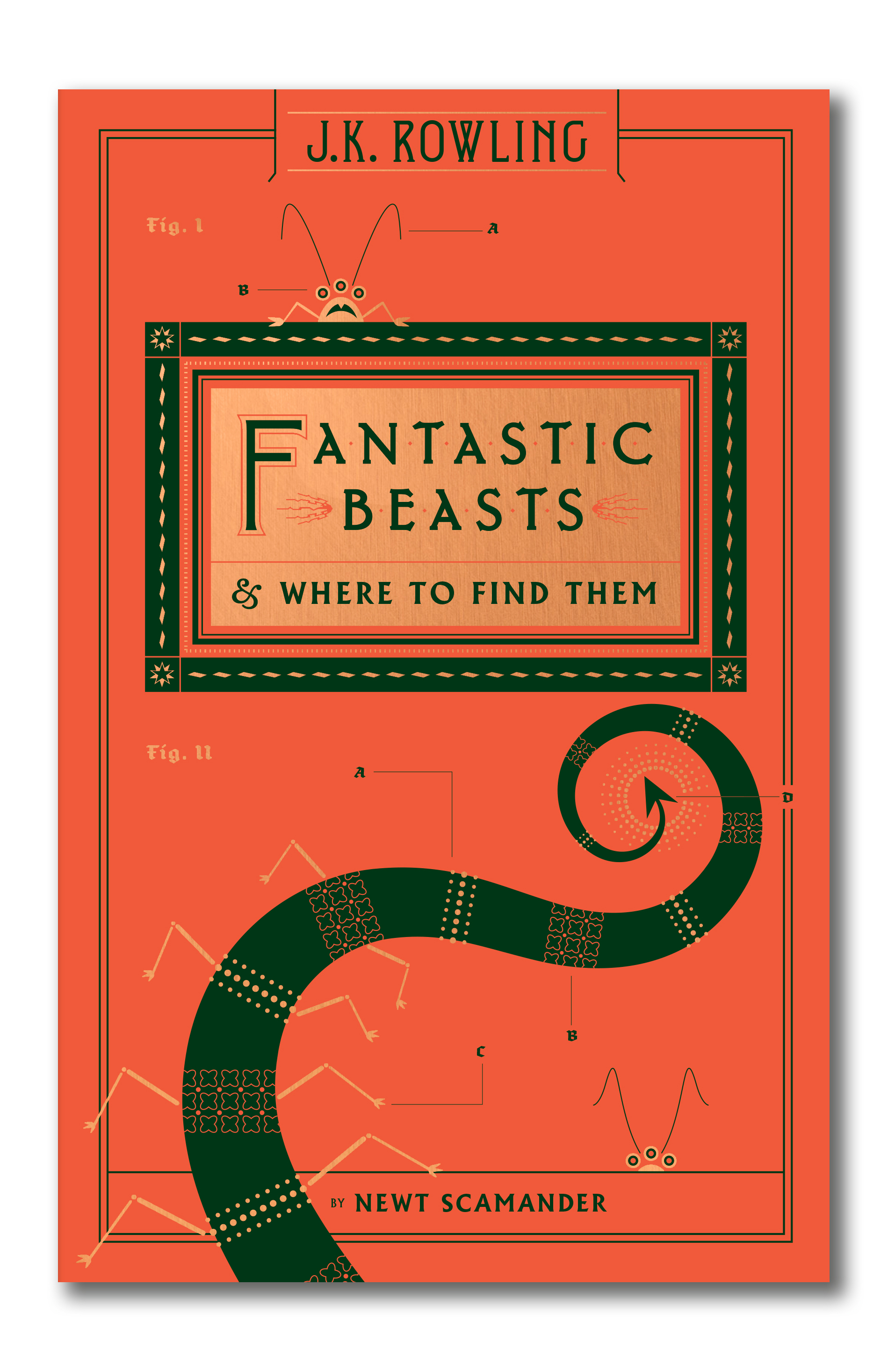 Fantastic Beasts and Where to Find Them old cover.jpg