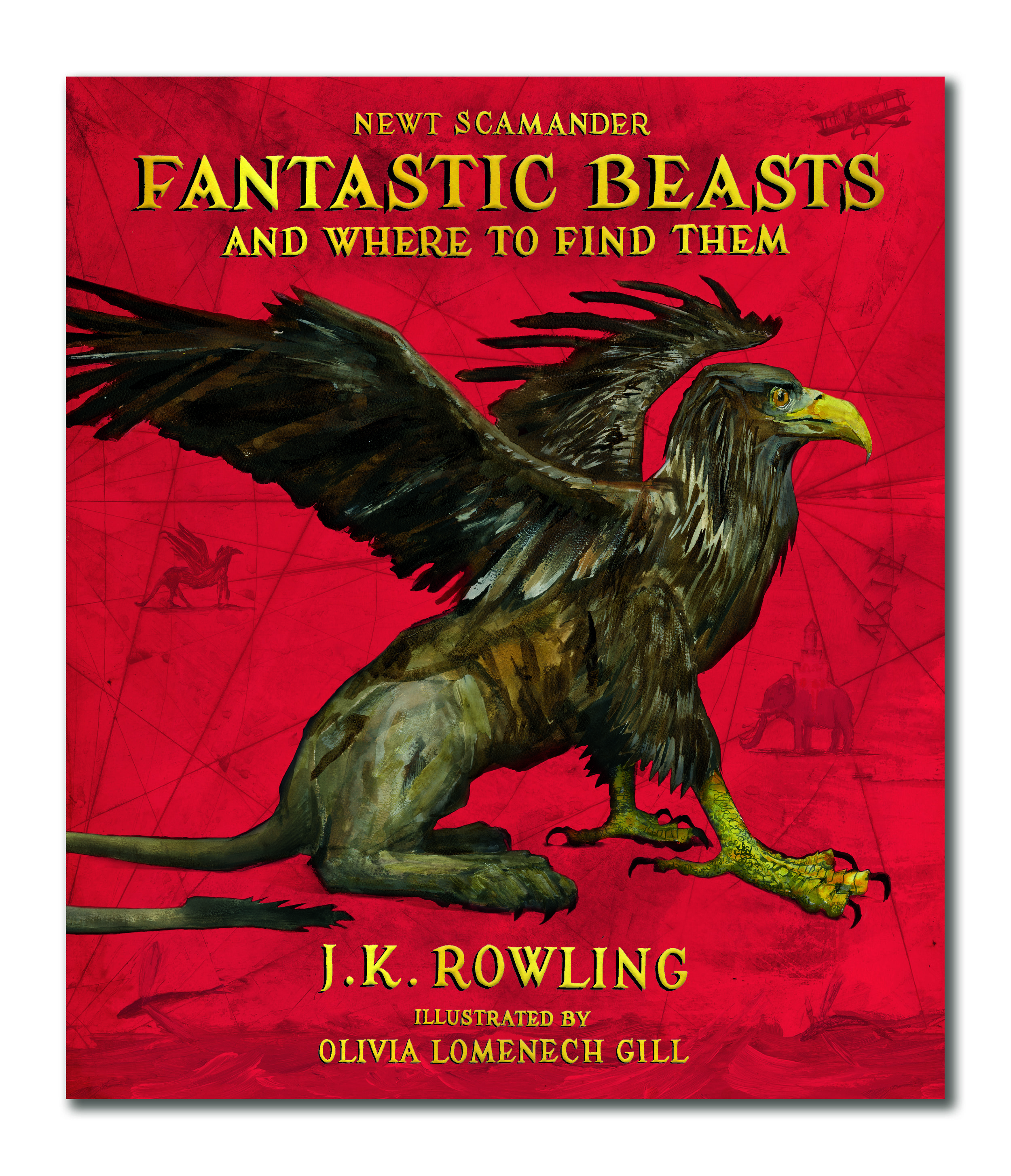 Fantastic Beasts and Where to find Them illustrated.jpg