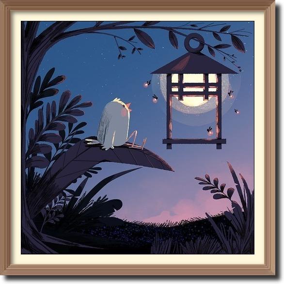 Lantern art by Brian Won