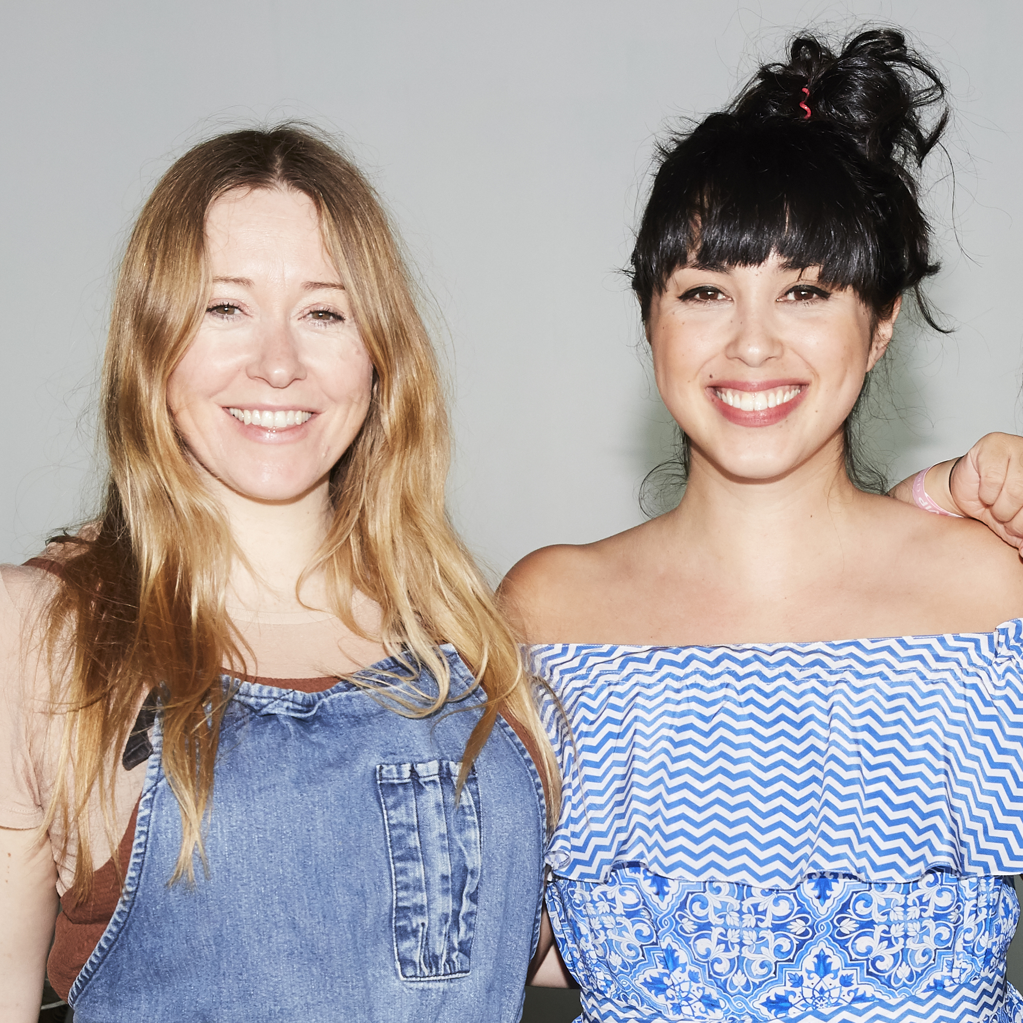 Anna Jones (left) and Melissa Hemsley (right)
