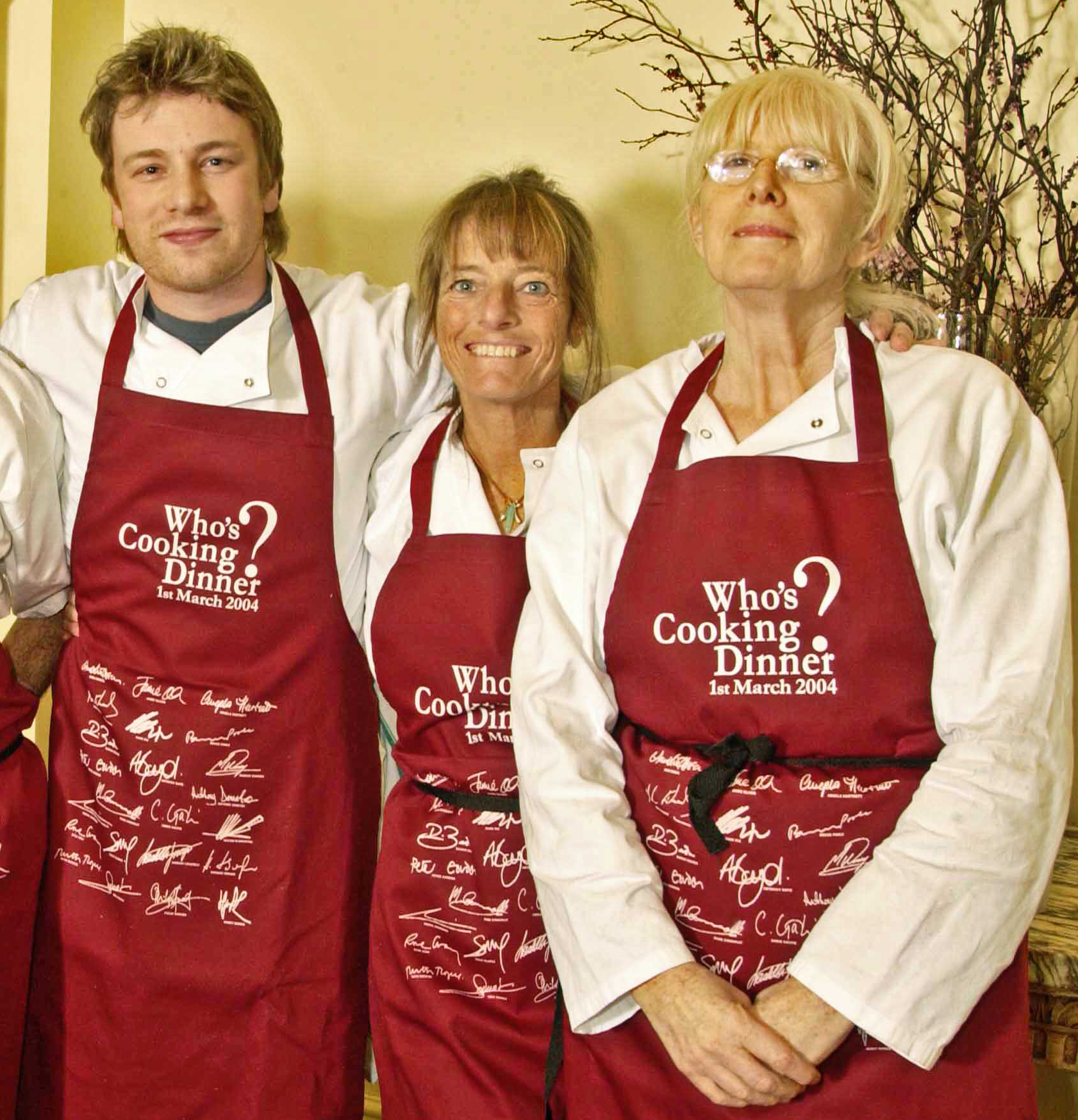 Jamie Oliver, Ruth Rogers, Ruth Gray