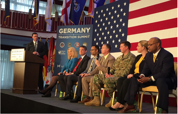 FASTPORT President Brad Bentley represents U.S. trucking industry to educate  military service members about career opportunities.